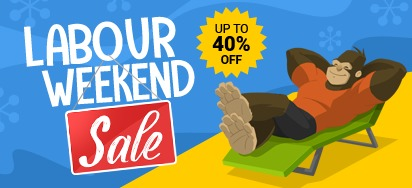 Labour Weekend Sale