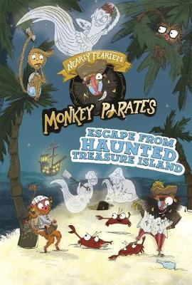 Nearly Fearless Monkey Pirates Pack A of 4 by Michael Anthony Steele