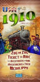 Ticket to Ride Expansion: USA 1910