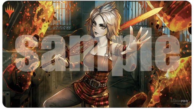 Ultra Pro: Magic Playmat - War of the Spark Japanese Alt Art- Nahiri