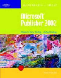Microsoft Publisher 2002: Introductory by Elizabeth Eisner Reding image