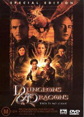 Dungeons & Dragons on DVD