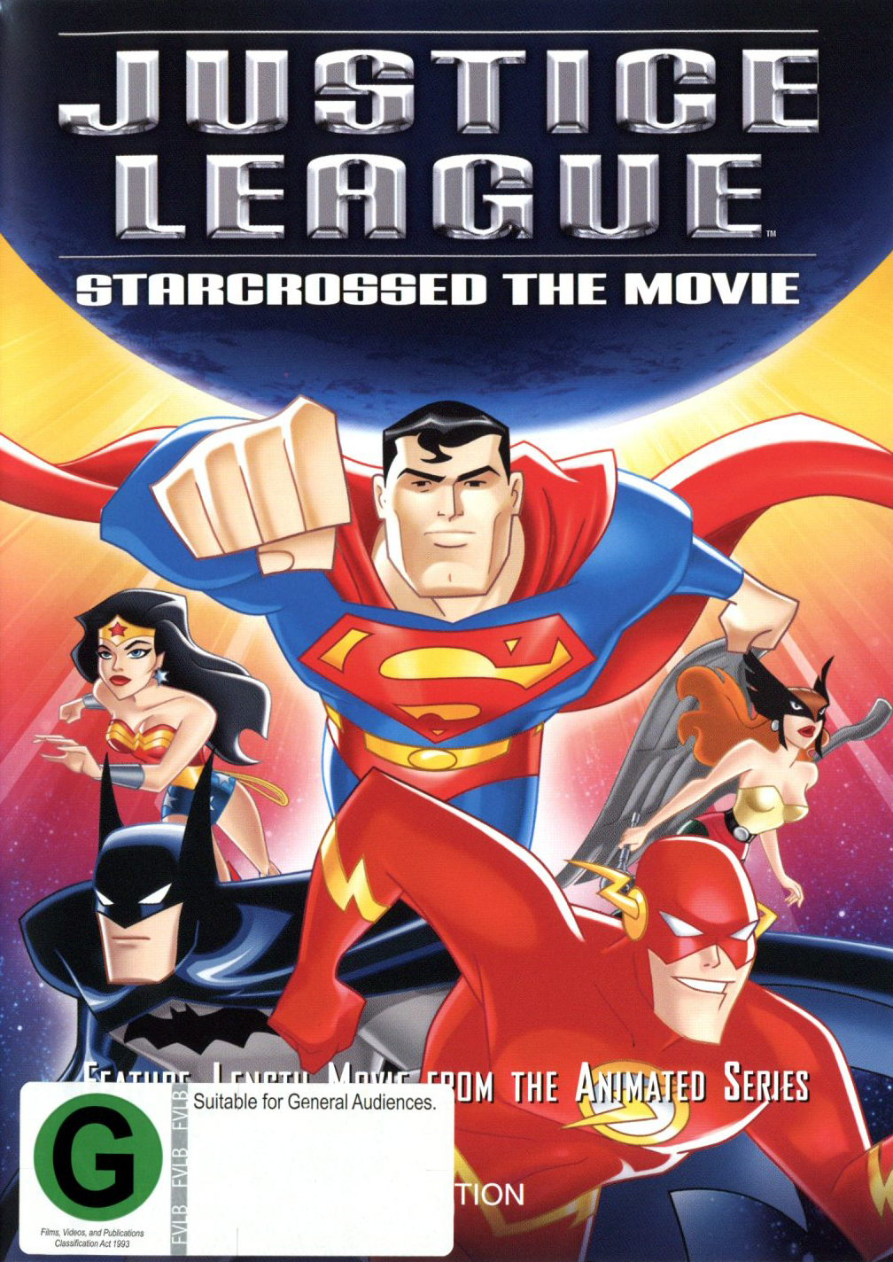 Justice League - Starcrossed The Movie on DVD image