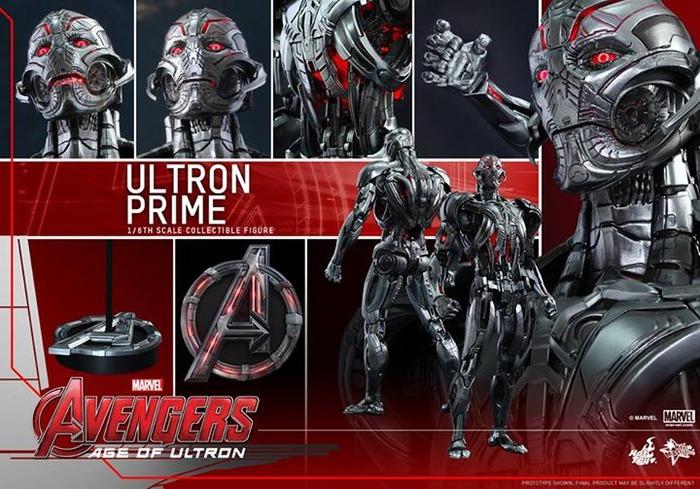 Avengers 2 Ultron Prime 1/6 Scale Figure image