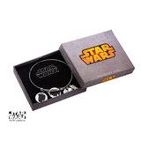 Star Wars Han & Leia Stainless Steel Expandable Bracelet