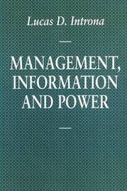 Management, Information and Power by Lucas D. Introna image