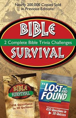 2-In-1 Bible Trivia: Bible Survival and Lost and Found by Tamela Hancock Murray image
