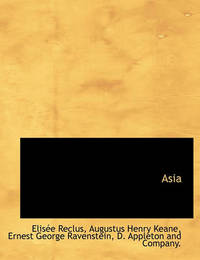 Asia by Elisee Reclus
