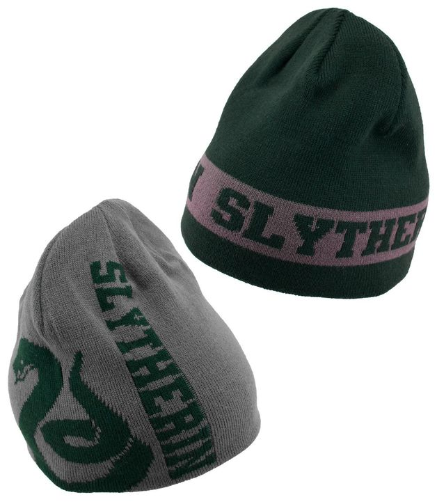 Harry Potter - Slytherin Reversible Knit Beanie