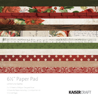 """Letters to Santa 6.5"""" Paper Pad"""