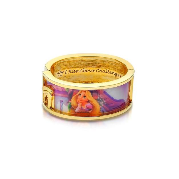 Couture Kingdom: Disney - Princess Rapunzel Dreaming Bangle (Yellow Gold)