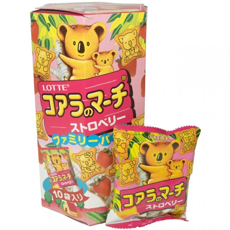 Koala's March Family Pack Strawberry 195g image
