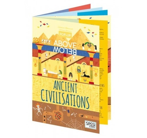 Sassi: Above & Below - Ancient Civilisations Book