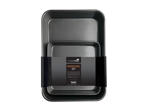MasterClass: Non-Stick Bakeware Twin Pack (39cm)