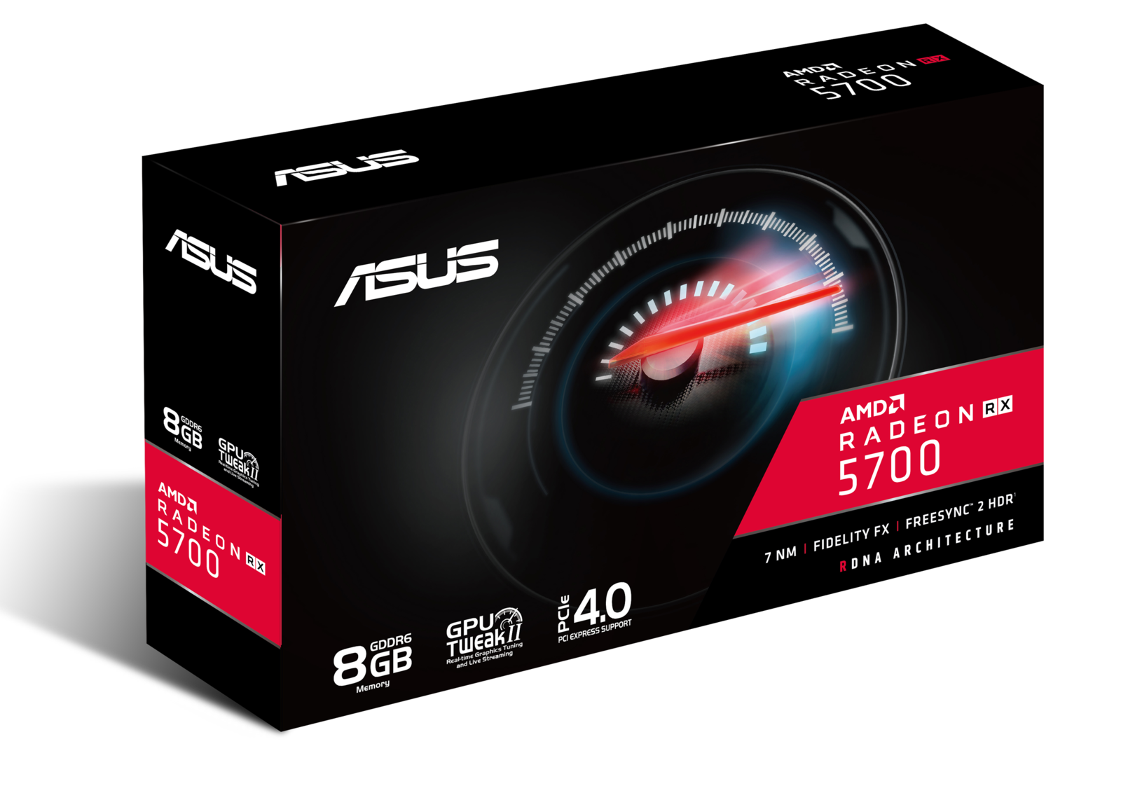 ASUS RX 5700 8GB Graphics Card image