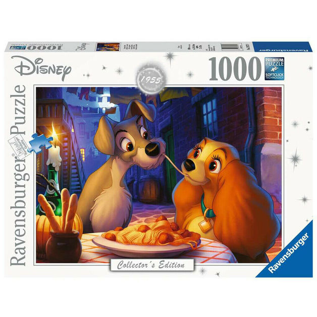 Ravensburger: 1,000 Piece Puzzle - Disney Moments (Lady & the Tramp)
