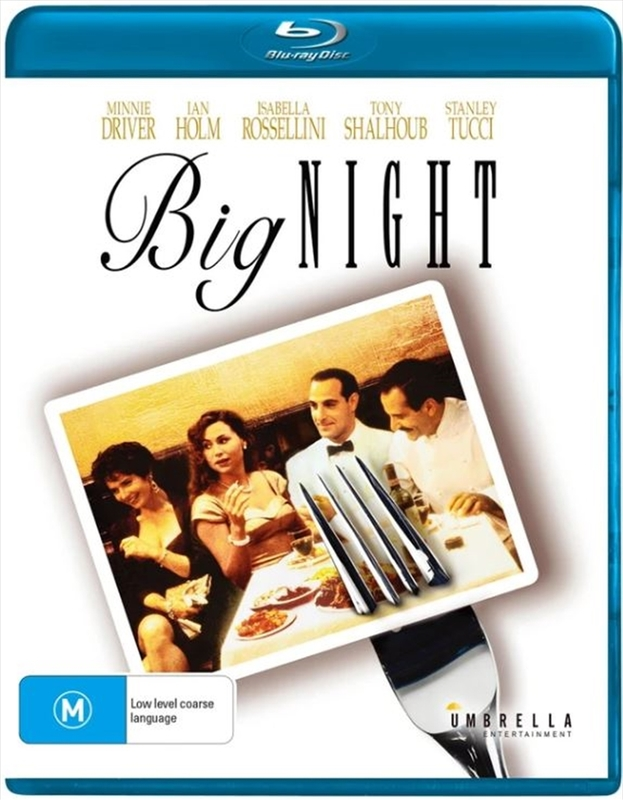 Big Night on Blu-ray