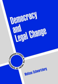Cambridge Studies in the Theory of Democracy: Series Number 6 by Melissa Schwartzberg image
