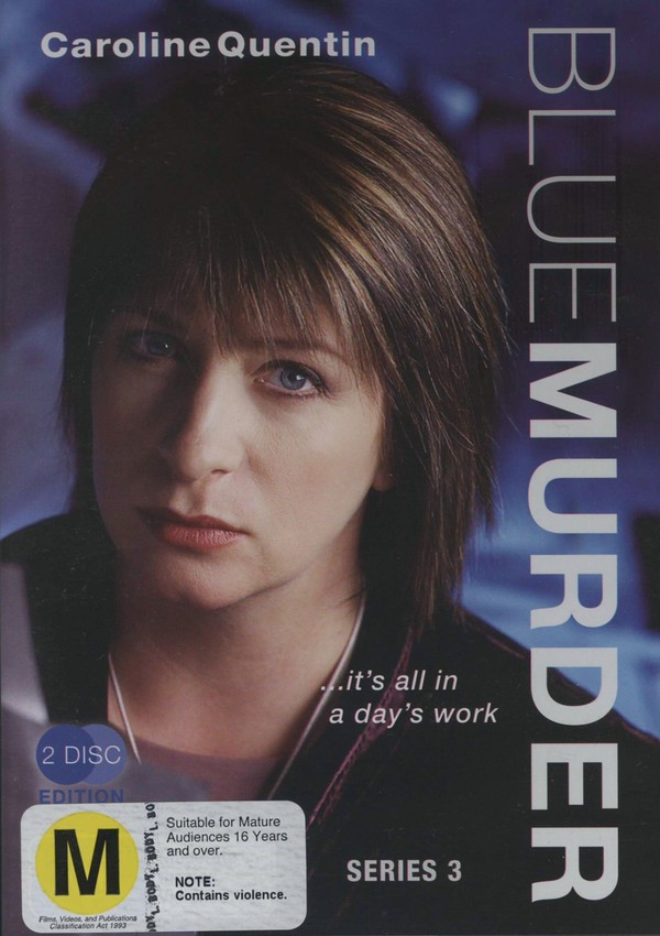 Blue Murder (2003) - Series 3 (2 Disc Set) on DVD image