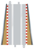 Scalextric Lead in & Lead Out Borders