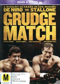 Grudge Match on DVD