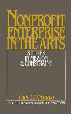 Non-Profit Enterprise in the Arts image