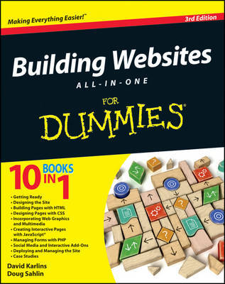 Building Websites All-in-One For Dummies by David Karlins image