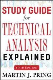 Study Guide for Technical Analysis Explained Fifth Edition by Martin J Pring