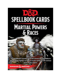 D&D Spellbook Cards: Martial Deck