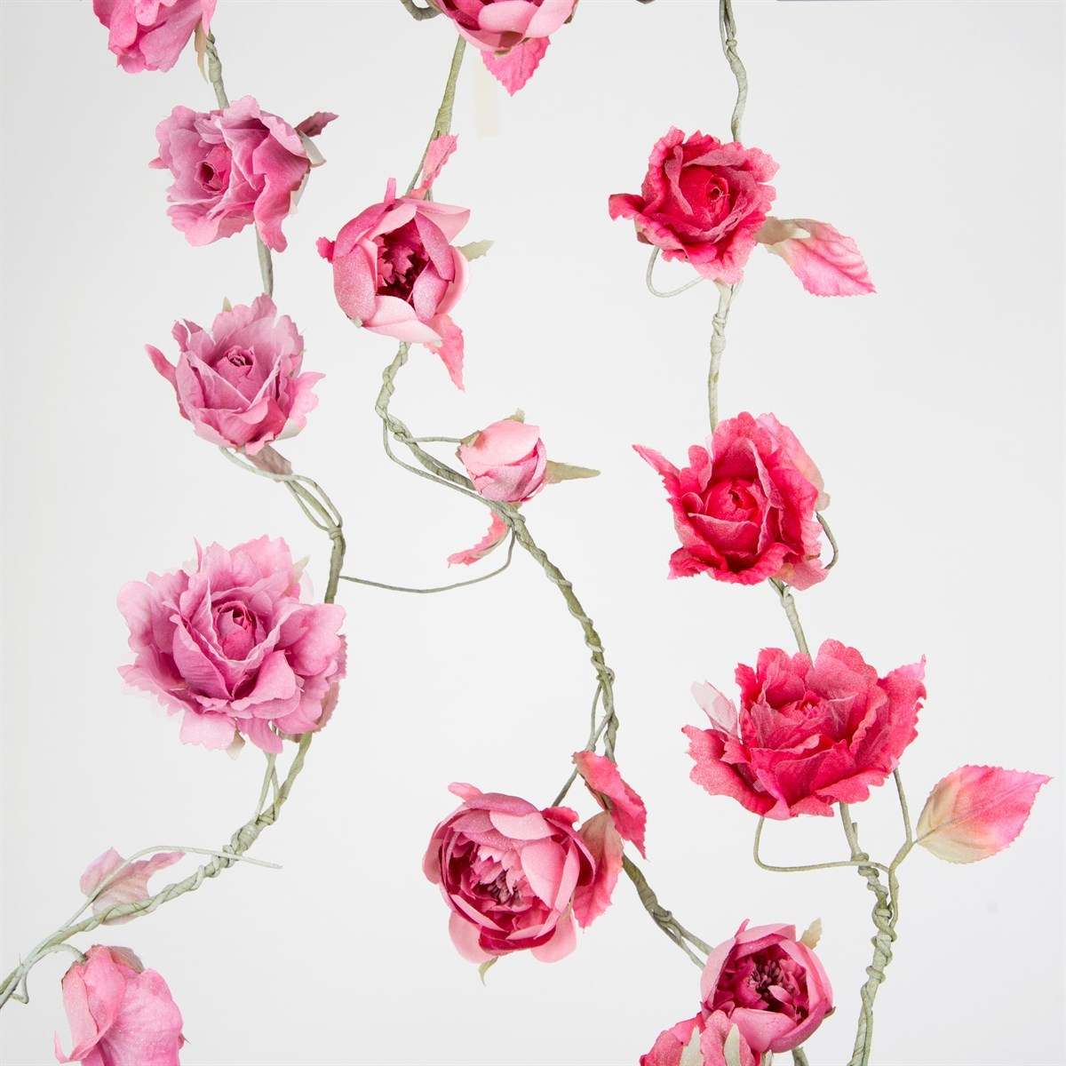 Vintage Rose Garland (Iris Pink) image