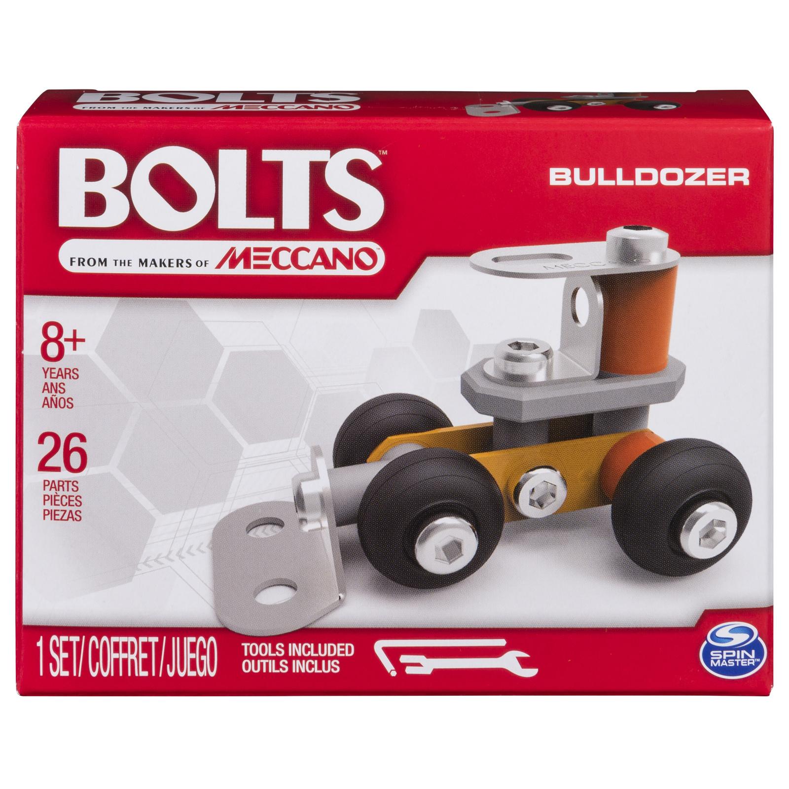 Meccano: Bolts Mini Vehicles - Bulldozer image