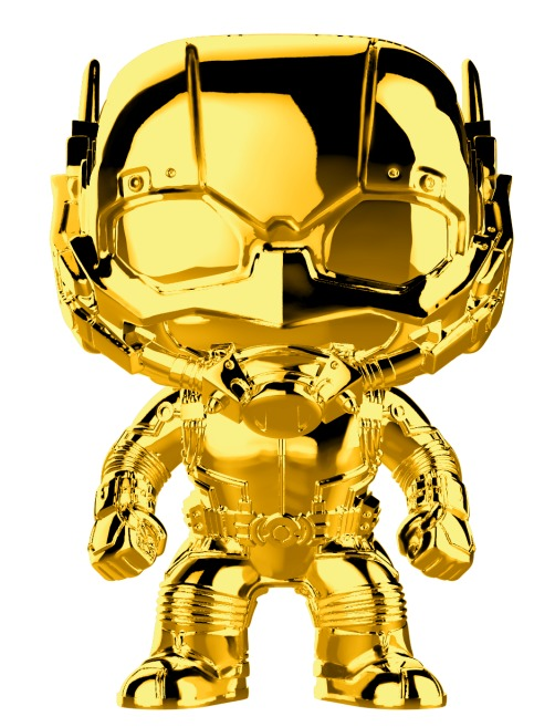Marvel Studios - Ant-Man Gold Chrome Pop! Vinyl Figure image