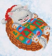 Diamond Dotz: Facet Art Kit - Snug Xmas Kitty