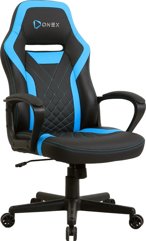 ONEX GX1 Series Gaming Chair (Black & Blue) for