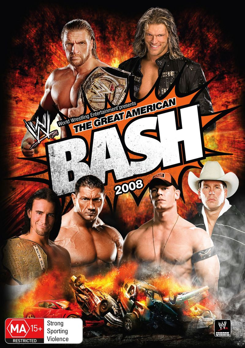 WWE - The Great American Bash 2008 on DVD image