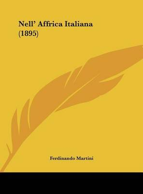 Nell' Affrica Italiana (1895) by Ferdinando Martini image