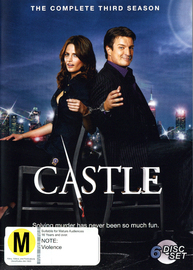 Castle - The Complete 3rd Season on DVD