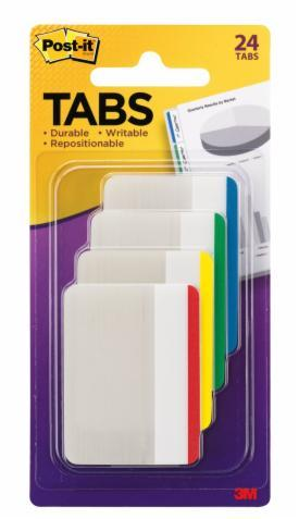 Post-it Filing Tabs - Assorted Colours (Pack of 24)