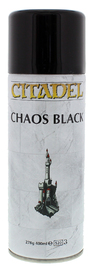 Citadel Spray Paint - Chaos Black
