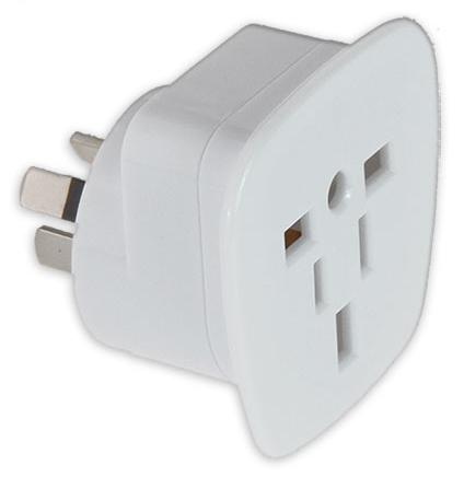 Pudney Multi Reverse International Plug Adaptor