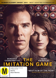 The Imitation Game on Blu-ray