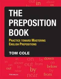 The Preposition Book by Tom Cole image