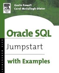 Oracle SQL by Gavin Powell