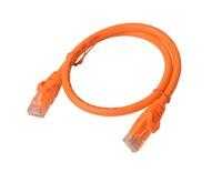 CAT 6a UTP Ethernet Cable; Snagless - 0.25m (25cm) Orange