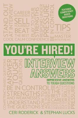 You're Hired! Interview Answers by Ceri Roderick image