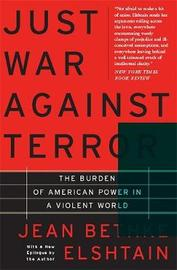 Just War Against Terror by Jean Bethke Elshtain image