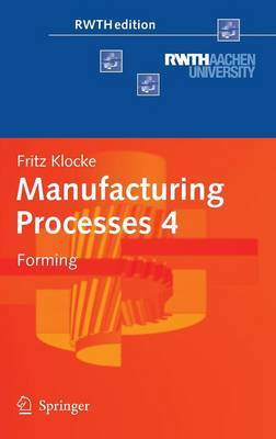 Manufacturing Processes 4 by Fritz Klocke