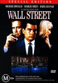 Wall Street - Special Edition on DVD