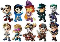 DC Comics - Lil' Bombshells Mini Figures - Series 3 (Blindbox)