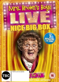 Mrs. Browns Boys Live Nice Big Box on DVD